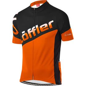 Löffler Messenger Full-Zip Bike Jersey Men, oranje